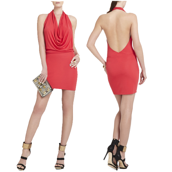 红色裙子 $198.00