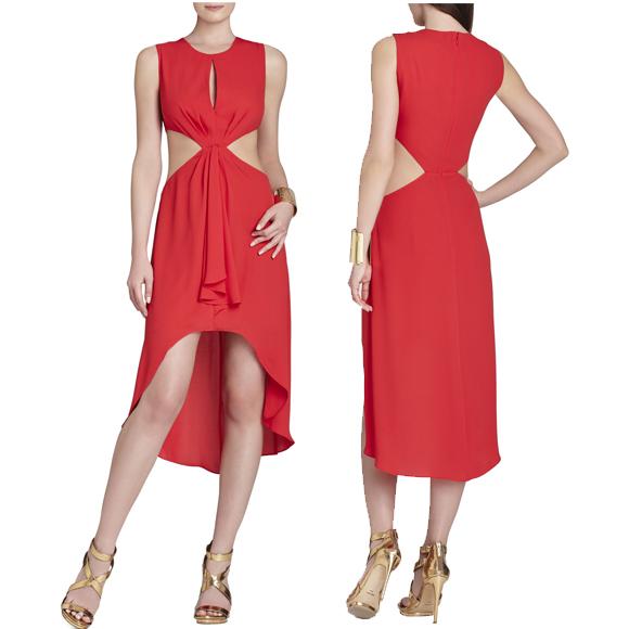 红色裙子 $228.00