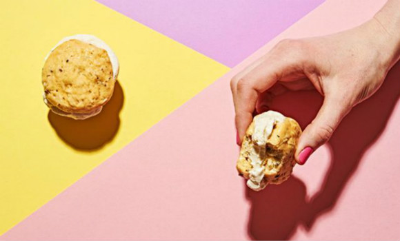 夏日新纪元:冰淇淋三明治!