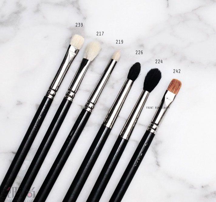 Makeup brushes zoeva review