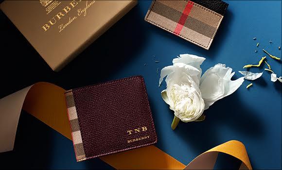 圣诞礼品——Burberry的私人专属款送到家