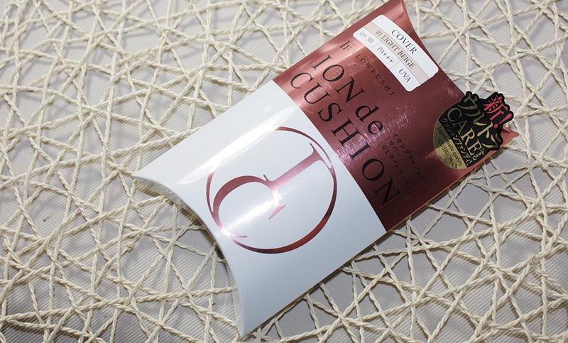 气垫底妆的一股清流-日本FLOWFUSHI ION de Cushion气垫粉底测评