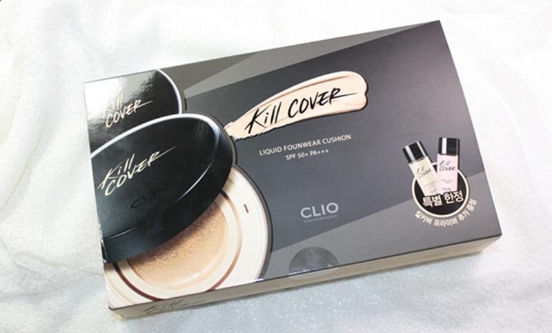 性价比无敌了!Clio Kill Cover凝脂无瑕气垫粉底套装测评