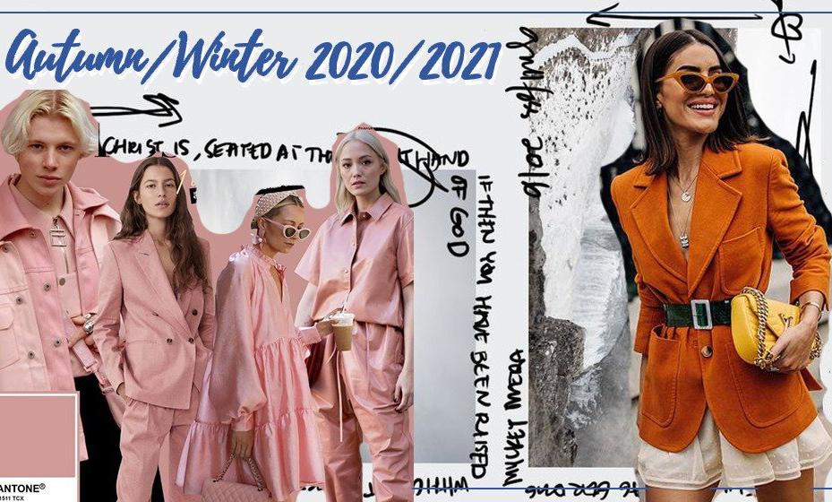 糖渍桑葚or橘皮橙,2020/2021秋冬流行色出炉