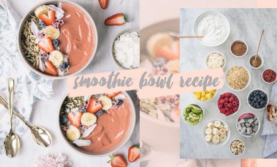 网红早餐Smoothie Bowl | 减脂必看